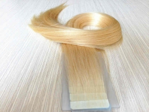 High quality 100% european hair micro tape weft extension