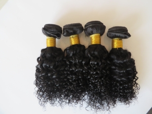 Virgin remy hair,curly