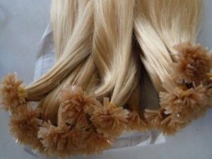nail tip human hair