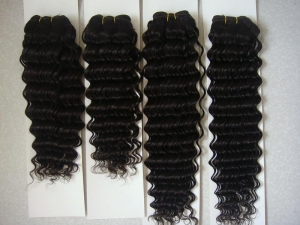 virgin remy natural curly,Deep wave